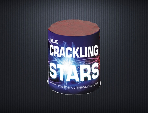 307-Blue Crackling Stars