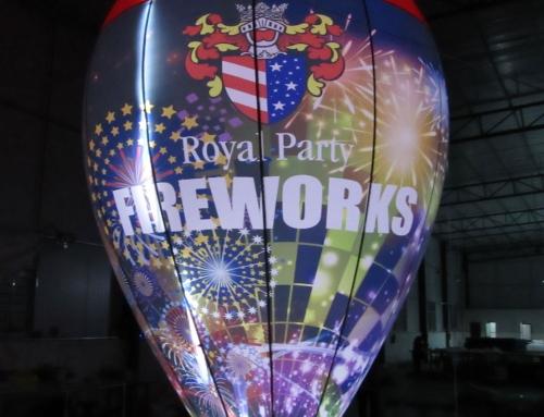 Ny design på ballong